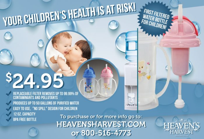 Heavens Harvest Flyer Design